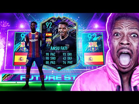 OMG FUTURE STARS 2!! ICON PACKED! FIFA 21 ULTIMATE TEAM