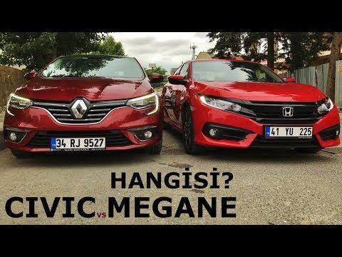 Honda Civic vs Renault Megane | Hangi Sedan?