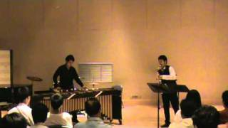 Divertimento for Marimba and Alto Saxophone