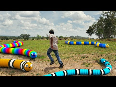 Slither.io In Real Life 2