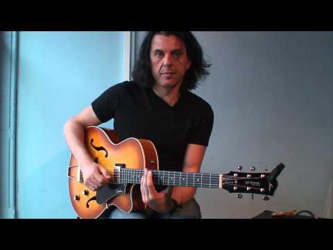 Guitar Lesson: Alex Skolnick - Half-whole diminished licks (TG254)
