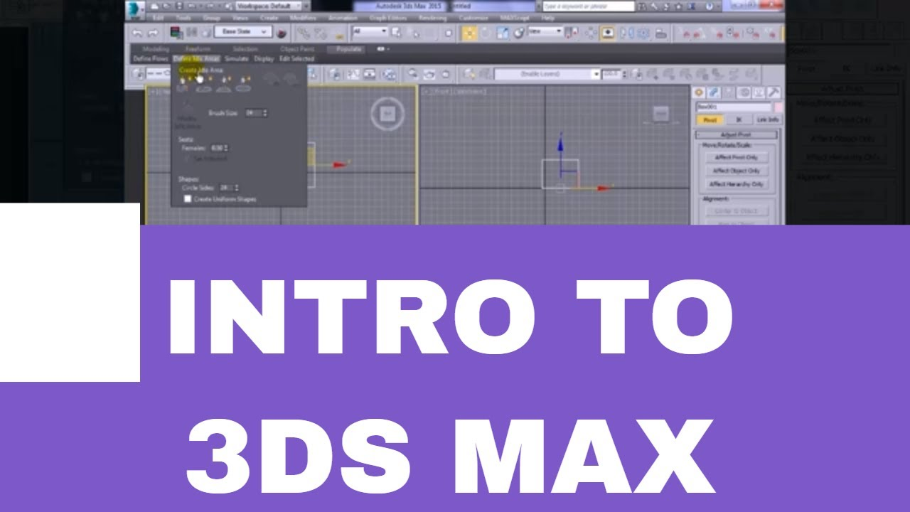 3ds max tutorial for beginners introduction to user for 3ds max step by step tutorials for beginners
