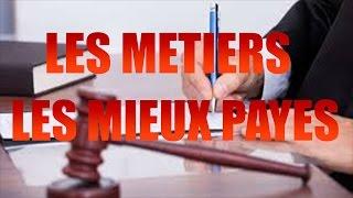 TOP 10 DES METIERS LES MIEUX PAYES EN FRANCE !!