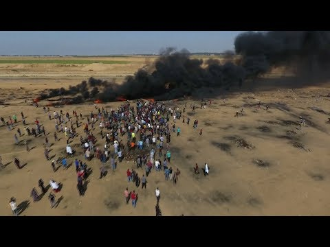 Bloody protests in Gaza mark Israel's 70th anniversary as nation state   ITV News