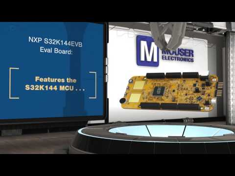 NXP Semiconductor S32K144EVB Evaluation Board | New Product Brief