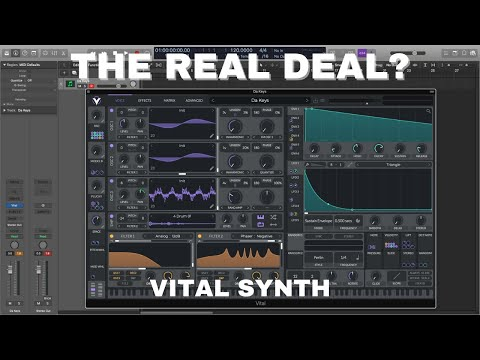 Vital Free Wavetable Synth! Does It Measure Up? I Will Give it the True Test!