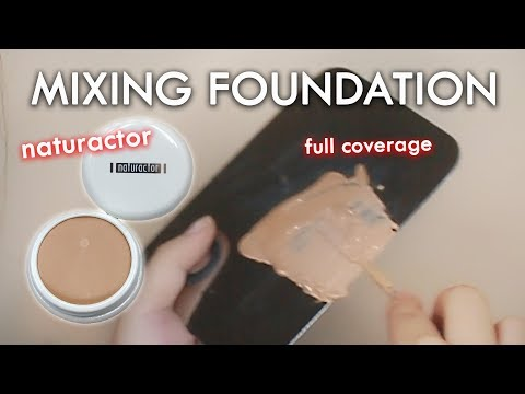 Naturactor Mixing Foundation Review & Demo