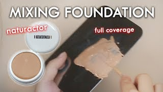 Download Video Naturactor Mixing Foundation Review & Demo MP3 3GP MP4