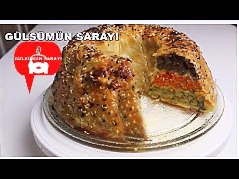 Üc ayri lezzetin birlestigi nefis börek / üc renkli börek/ patatesli börek / gülsümün sarayi