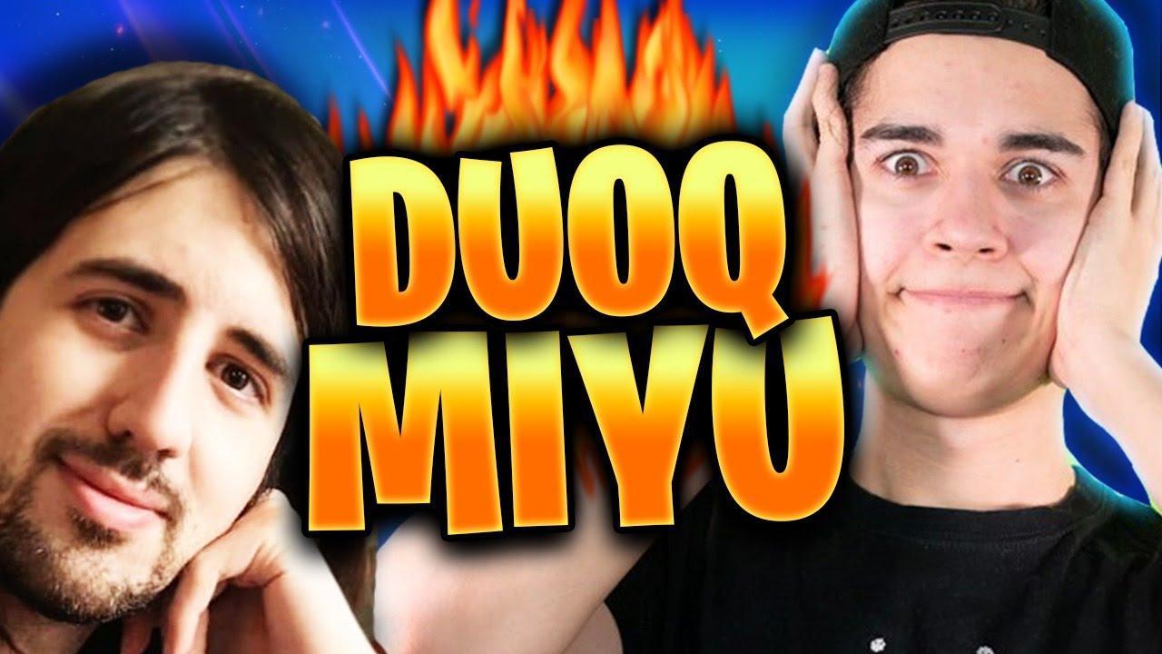 ¡Jugando DUOQ con MIYU! ¡El DUO DE OJOS destroza en la GRIETA!