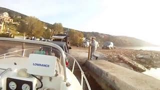 ψαρεμα μπαλαδες στο καβο ντορο με pilot 550 honda 75