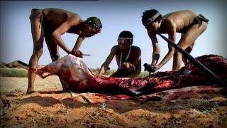 Bloody hunting (Bushmen)