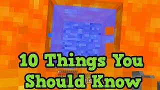 Minecraft Wii U / Xbox 360 - 10 Things you SHOULD Know