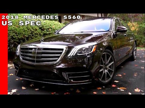 2018 Mercedes S560 US Spec Interior Test Drive