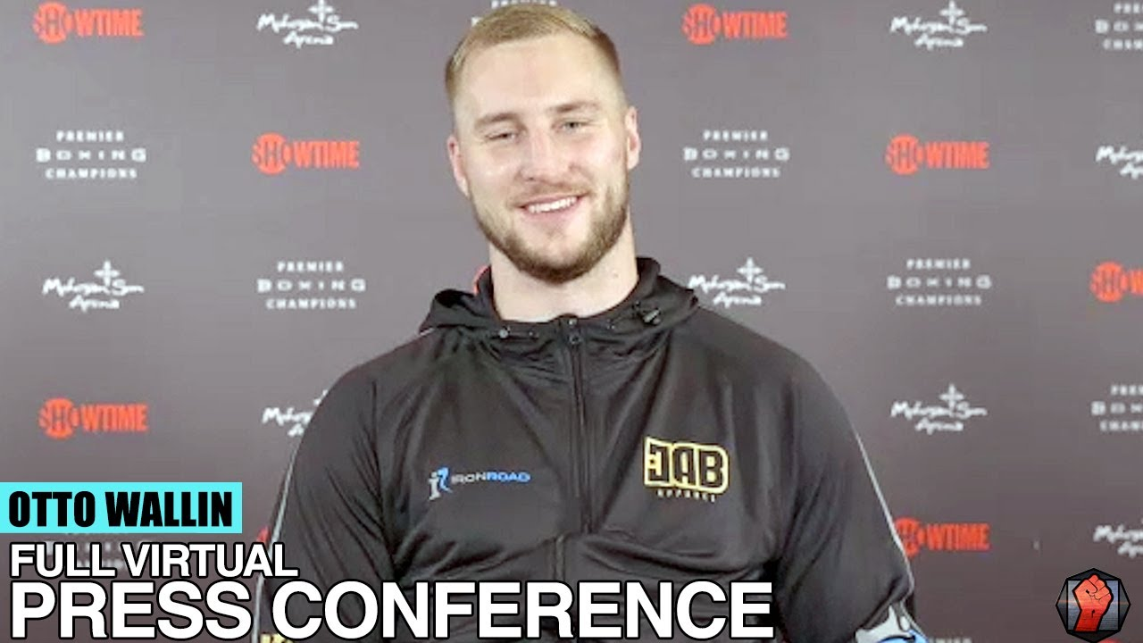 "OTTO WALLIN TO TYSON FURY ""YOU CALL OUT ALOT OF GUYS BUT NEVER MENTION MY NAME"""