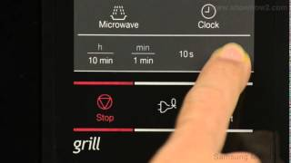 Samsung MW73AD-B Microwave Oven - Using The Quick Start Mode