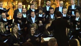 AVE MARIA DE J BUSTO  CONCIERTO Coro Fundacion Princesa Asturias  Iglesia Carmen  Cádiz 30 04 15