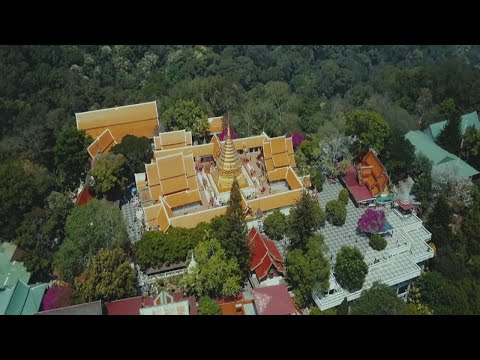 Doi Suthep Chiang Mai Thailand  // Cinematic 4k Dji Mavic pro