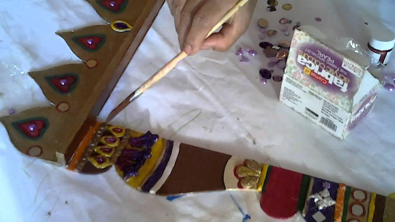 jharokha frame painting youtube. Black Bedroom Furniture Sets. Home Design Ideas
