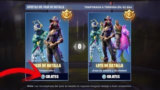 GET ALL FREE IN FORTNITE!! - BATTLE PASS 6 FREE AND MORE!! - YOU HAVE TO DO IT!!