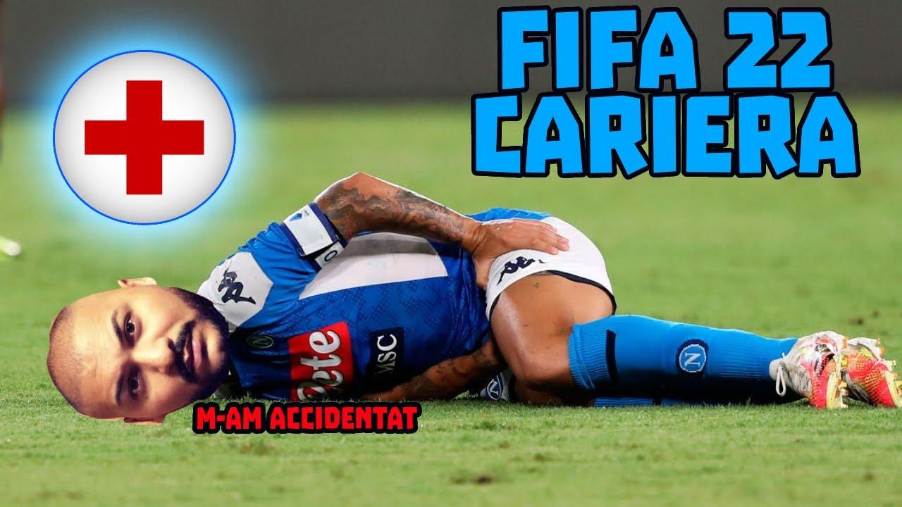 DANI MOCANU S-A ACCIDENTAT ! CARIERA DE JUCATOR FIFA 22 #2