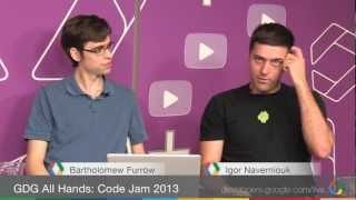 GDG All Hands: Code Jam 2013