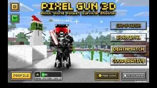 Взломанный!!!Pixel Gun 3D Pro (обзор и ссылка)На 1лвл всё есть :)