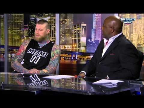 January 23, 2015 - Sunsports - Miami Heat's Birdman Strange Interview with Jason Jackson