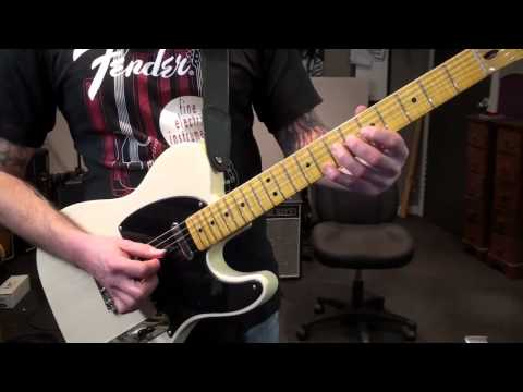 Two string bending lesson on my Fender Classic Vibe Telecaster .mp4