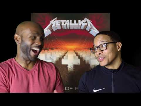 Metallica Master Of Puppets REACTION!!!