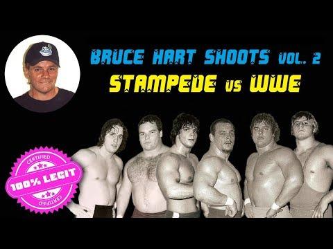 Stampede Wrestling vs WWE - Bruce Hart Shoots vol. 2