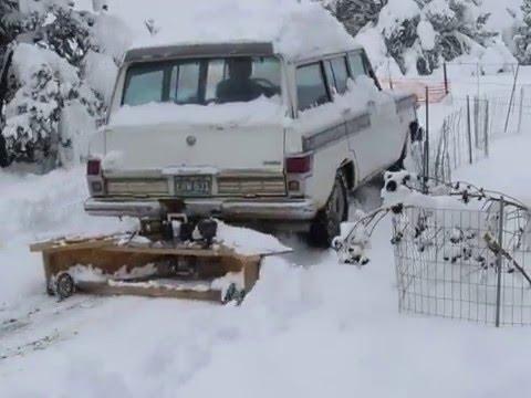Homemade Plywood Truck Plow 2 Doovi