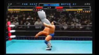 All Japan Pro Wrestling feat. Virtua - Sega Saturn