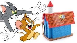 TOM e JERRY - Scopriamo la Casa delle Trappole [Apertura Gioco per Bambini]
