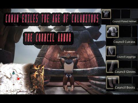 Conan Exiles the Age of Calamitous Council Armor /Endgame Mod |