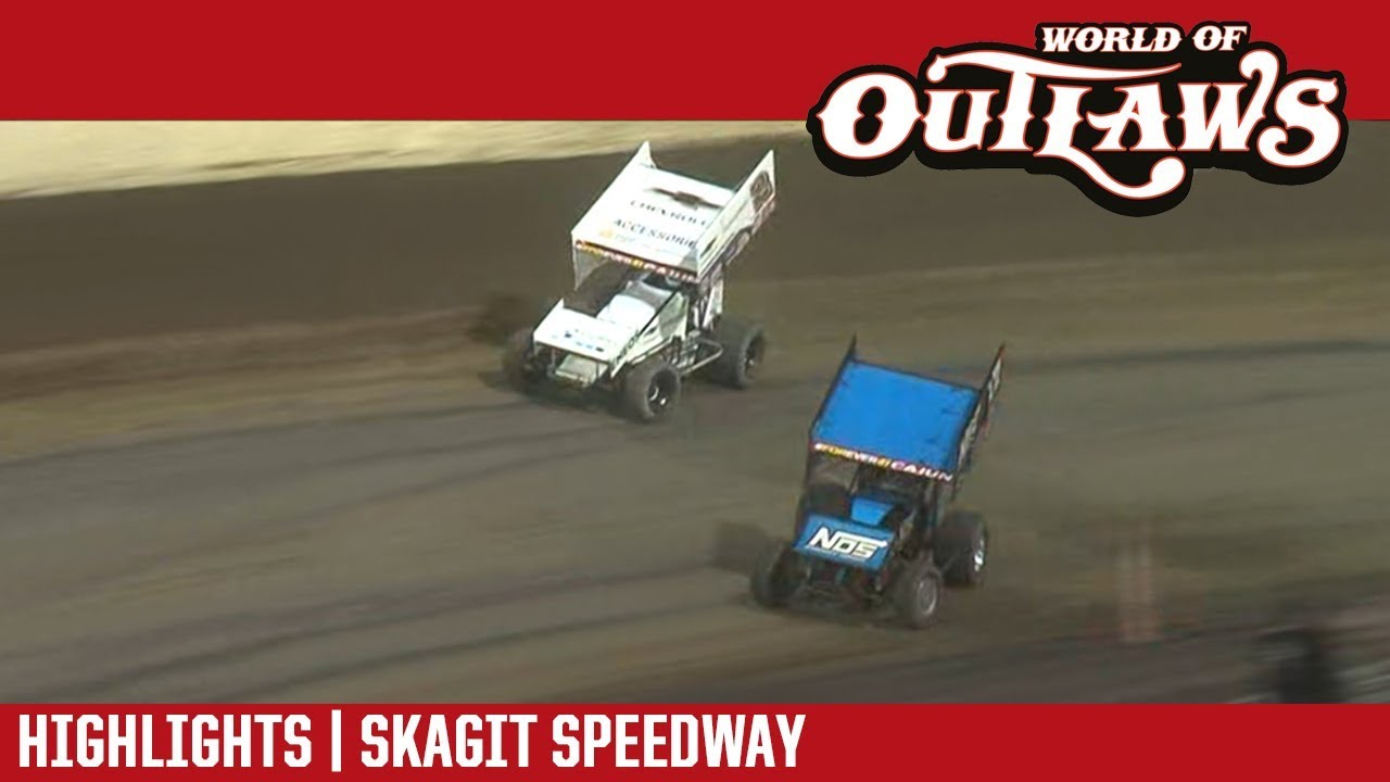 world-of-outlaws-craftsman-sprint-cars-skagit-speedway-august-31-2018-highlights