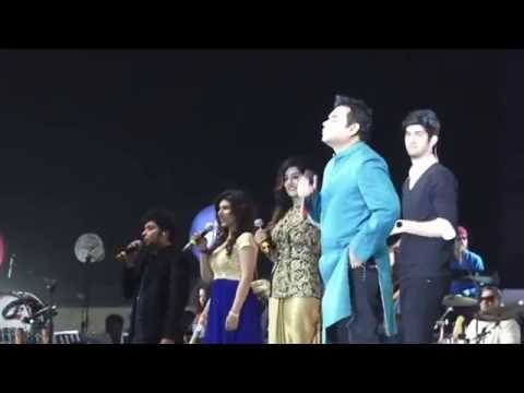 AR Rahman With Jawed Ali Live In Concert