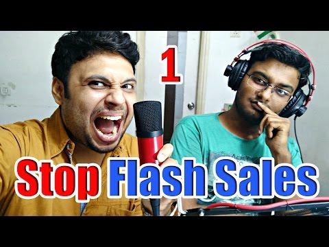 STOP Flash Sales ! [ Part 1] ft. Dr.Hrishi k