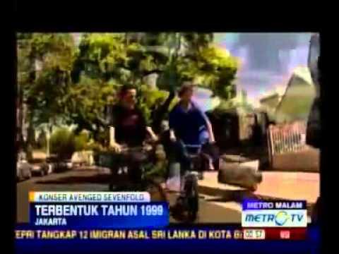 Avenged Sevenfold  - Jakarta Indonesia 1 Mei 2012 [Metro TV]