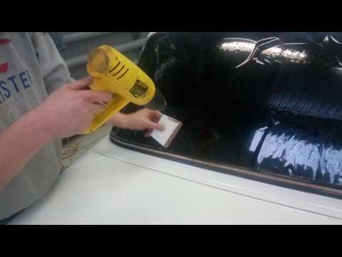 Тонировка заднего стекла ваз 2107 своими руками видео