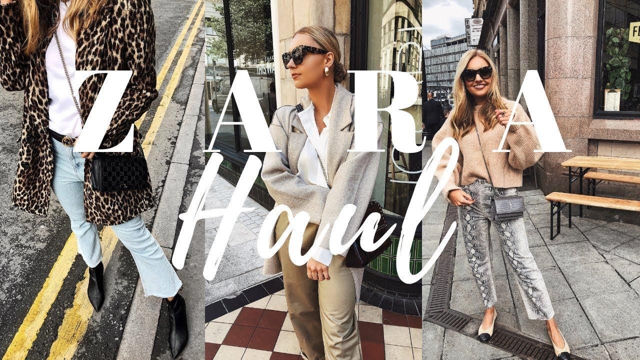 5b1237e4 Zara Haul & Try On   September 2018