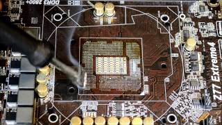LGA1155 CPU Socket Replacement with Scotle HR460 Part 2