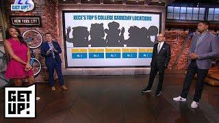 Rece Davis ranks top 5 College GameDay locations | Get Up! | ESPN