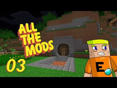 All the Pearls Dark Utilities - All The Mods Ep.03 - Sub Server Play