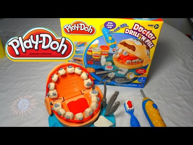 Play- Doh  Dentista Dr Drill N Fill - Play Doh Dentis| Mundo de Juguetes Videos De Viajes