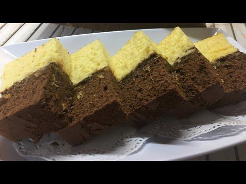 Resep ekonomis ,Cake Lapis Dua Rasa