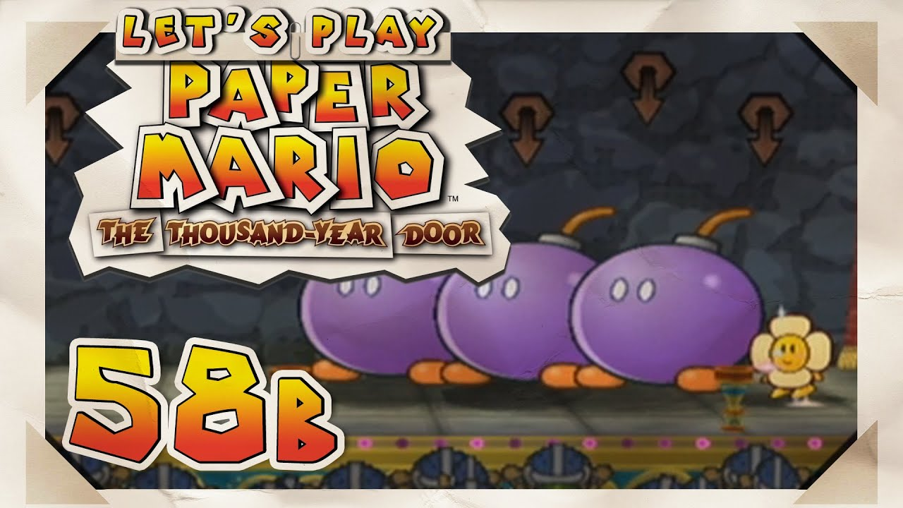 Paper Mario The Thousand Year Door 58b Pit Of 100