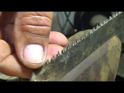 Как наточить ножовку в домашних условиях