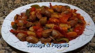 Italian Grandma Makes Sausage and Peppers