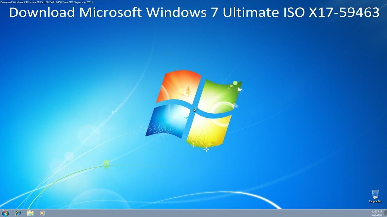 Microsoft Windows Vista 32 Bit Iso Download